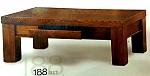 שולחן סלון 188 עץ מלא