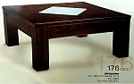 שולחן סלון 176 עץ מלא