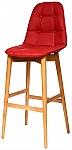 כיסא בר נועם רגלי עץ