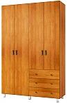 ארון בגדים 4 דלתות דגם שרון