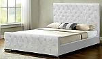 מיטת בסיס מרופדת דפנה
