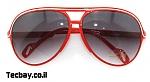 משקפי שמש אפנתיות נשים/גברים - אדום