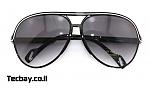 משקפי שמש אפנתיות נשים/גברים - שחור