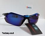 משקפי שמש רכיבה/ריצה - שחור/כחול