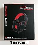 אוזניות גיימינג kinbas gx-k9