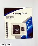 Micro SDHC 32GB כולל מתאם