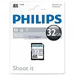 כרטיס זיכרון PHILIPS SDHC 32GB CL10
