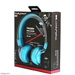 אוזניות קשת Wallytech WTE-523 - תכלת