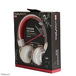 אוזניות קשת Wallytech WTE-523 - לבן
