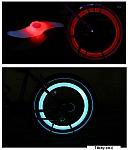 תאורת LED לגלגל האופניים