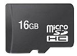 כרטיס זיכרון Micro SDHC 16GB