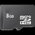 כרטיס זיכרון Micro SDHC 8GB