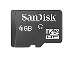 כרטיס זכרון SanDisk Micro SDHC SDSDQM-004G