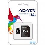 ADATA Micro SDHC 32GB כולל מתאם