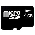 כרטיס זיכרון Micro SDHC 4GB