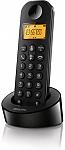 טלפון אלחוטי Philips Cordless Dect D1201B