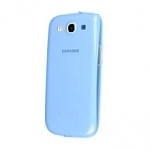 כיסוי לגלקסי Samsung TPU Cover For Galaxy S3 Blue