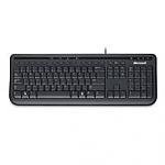 מקלדת Microsoft Wired Keyboard 600 USB Black Retail