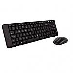 סט מקלדת ועכבר אלחוטיים Logitech Wireless Desktop Set MK220 Retail