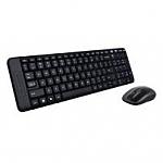 סט עכבר ומקלדת אלחוטית ברוסית Logitech Wireless Desktop Set MK220 (Russian) Retail