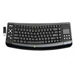 מקלדת אלחוטית QUE Wireless 2.4GHz Entertainment Keyboard With Touchpad KBQ1100