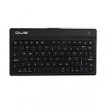 מקלדת בלוטות' QUE Bluetooth Wireless Keyboard - צבע שחור