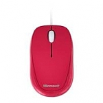 Microsoft Notebook Optical Mouse 500 Red Retail