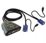 מתג Edimax 2 Port KVM Switch With USB EK-2U2C