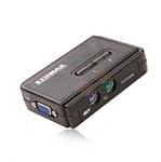 מתג Edimax 2 Port KVM Switch 350MHz High Bandwidth With PS2 EK-PSK2