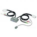 מתג Edimax 2 Port KVM Switch With USB And Audio Support EK-2U2CA