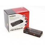 מתג Edimax 4 Port KVM Switch 350MHz High Bandwidth With USB And Audio Support EK-UAK4