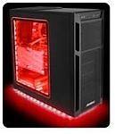תאורת לד בחיבור  Antec Accent Lighting RED Usb