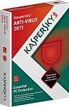 אנטי וירוס Kaspersky AntiVirus 2013 Retail - שנה אחת