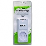 EcoTec Surge Protector SK5801P White
