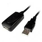 כבל מאריך לחיבור USB 2.0 באורך 5 מטרים