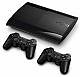 קונסולת משחק הכוללת שני בקרי משחק Sony PlayStation 3 Super Slim 12GB