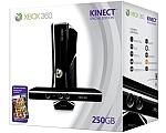 Microsoft XBOX 360 250G SLIM PAL + KINECT + משחק מתנה מיקרוסופט