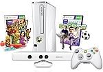 בצבע לבן Xbox 360 Special Edition 4GB Kinect מיקרוסופט