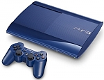 Sony PlayStation III (Blue) Super Slim 500GB+שני שלטים
