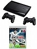 Playstation 3 Super Slim 12GB PES 2013 + שלט מקורי נוסף