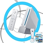 NINTENDO Wii PAL + Resort נינטנדו