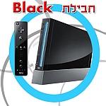 NINTENDO Wii - Black - שחור נינטנדו