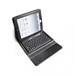כיסוי עם מקלדת לאייפד EcoTec Case With Bluetooth Silicone Keyboard For iPad 4 / iPad 3 / iPad 2