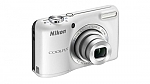 מצלמה דיגיטלית Nikon COOLPIX L27 16.1MP with 4GB - צבע כסף