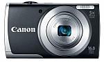 מצלמה דיגיטלית Canon A2500 16MP - צבע שחור