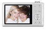 מצלמה דיגיטלית Samsung DV150F Dual-View 16.2MP Wi-Fi - צבע לבן