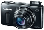 מצלמה דיגיטלית Canon SX260HS Digital Camera 12.1MP, 20x Optical Zoom - צבע שחור