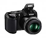 מצלמה דיגיטלית Nikon COOLPIX L320 16.1MP with 8GB - צבע שחור