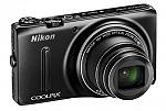 מצלמה דיגיטלית Nikon COOLPIX S9400 18.1MP with 8GB - צבע שחור