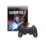חבילת Infamous 2 משחק+שלט מקורי PS3